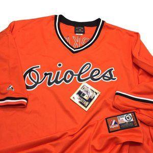 NWT Cal Ripken Jr Baltimore Orioles Majestic